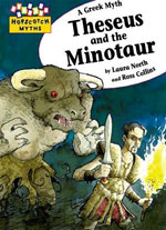The myth of Theseus and the Minotaur