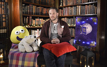 Tom Hardy read There's a bear on my chair on CBeebies Bedtime Stories